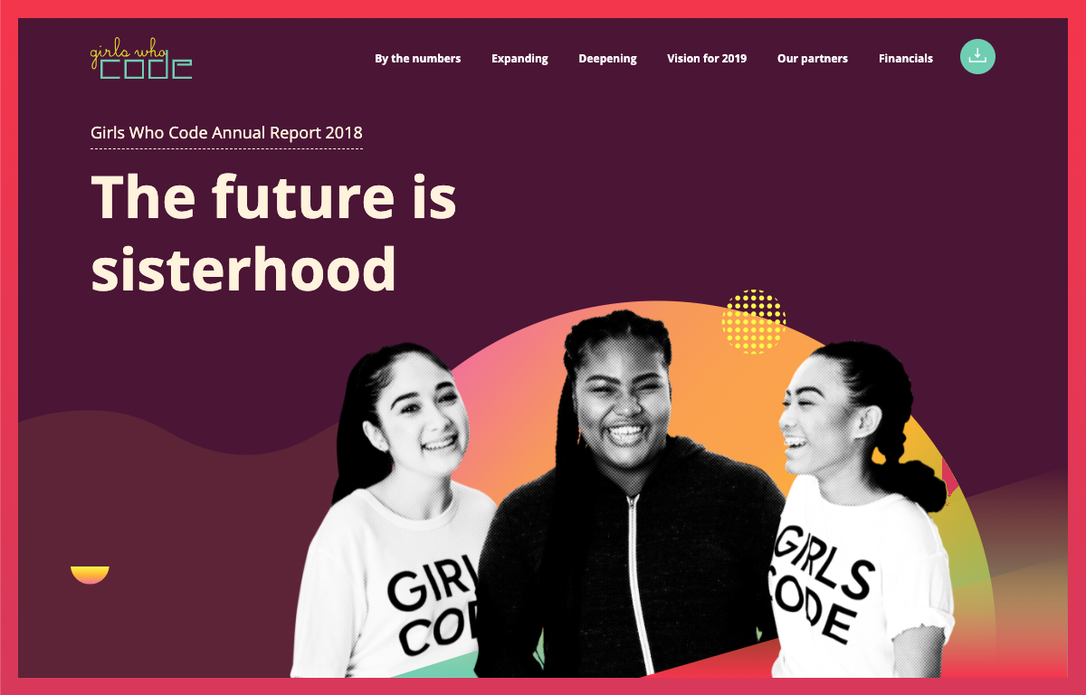 Girls Who Code - Annual Report 2018