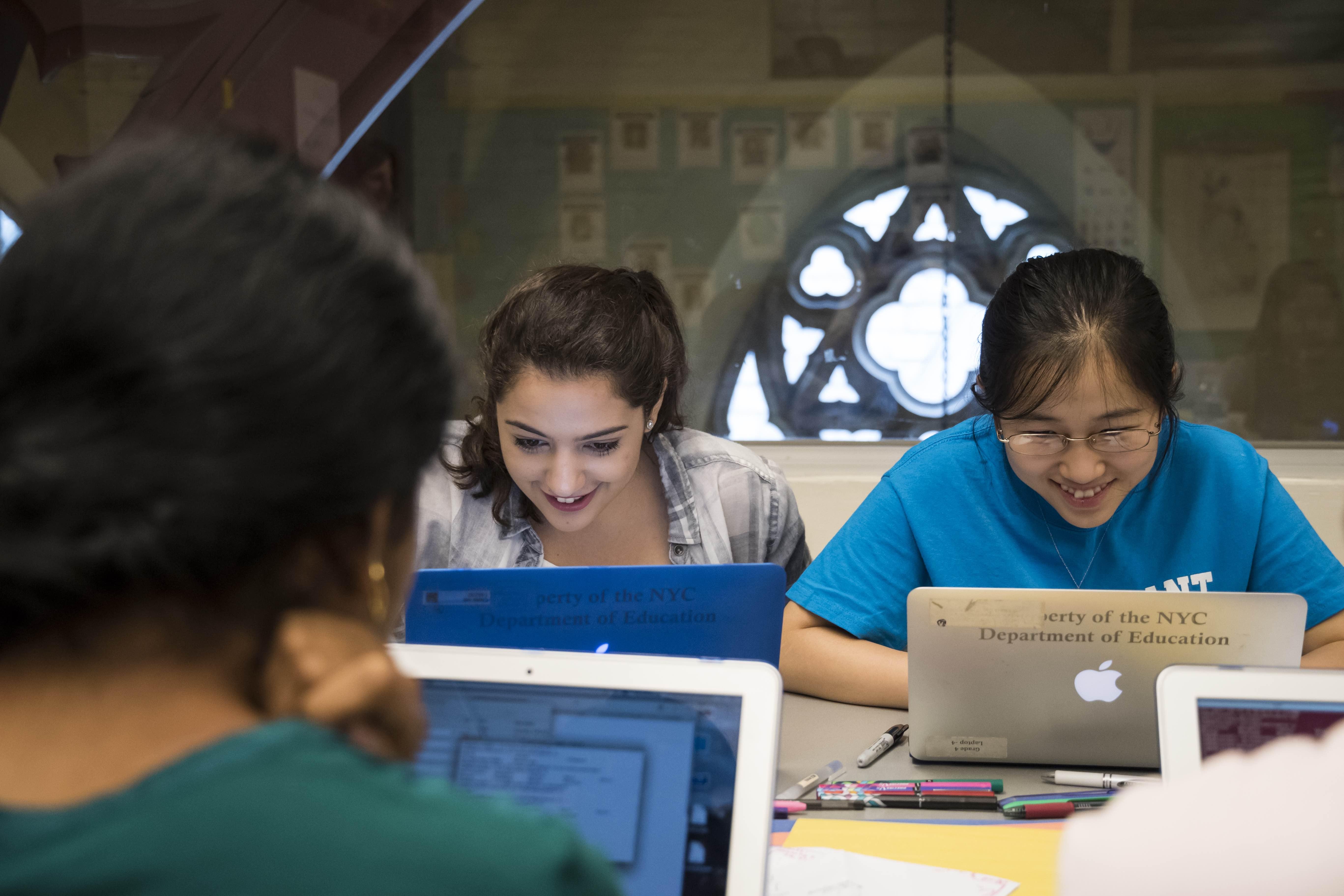 Girls Who Code Summer Immersion Programs Return to New York