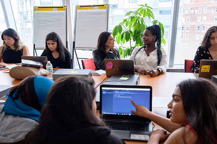 Summer Immersion Program - Girls Who Code