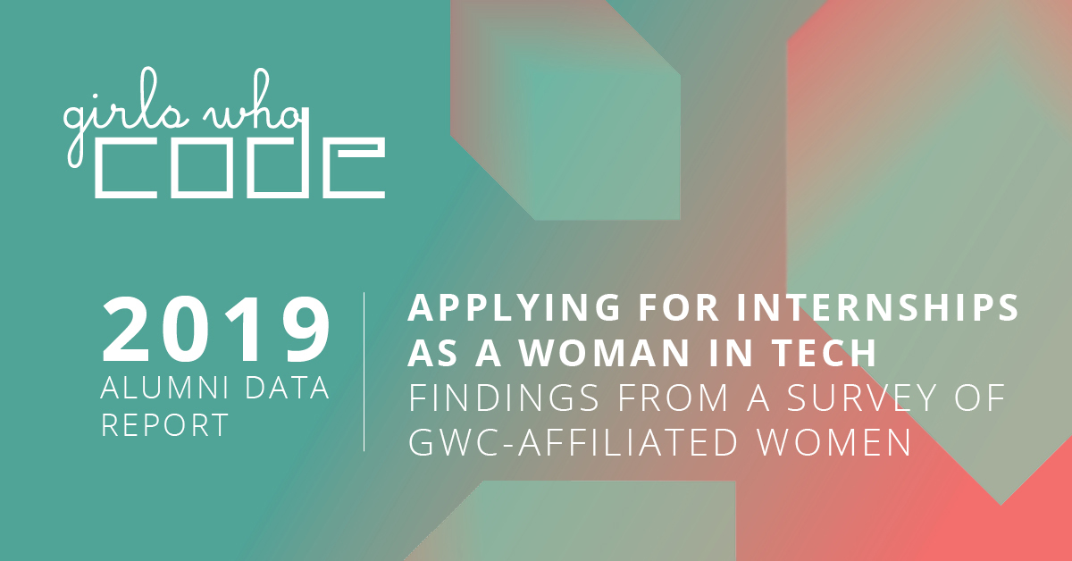 Girls Who Code survey reveals discriminatory hiring practices in the tech industry, highlights persistent barriers to closing the gender gap in tech - girlswhocode